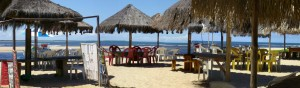 Praia da Boca da Barra em Boipeba